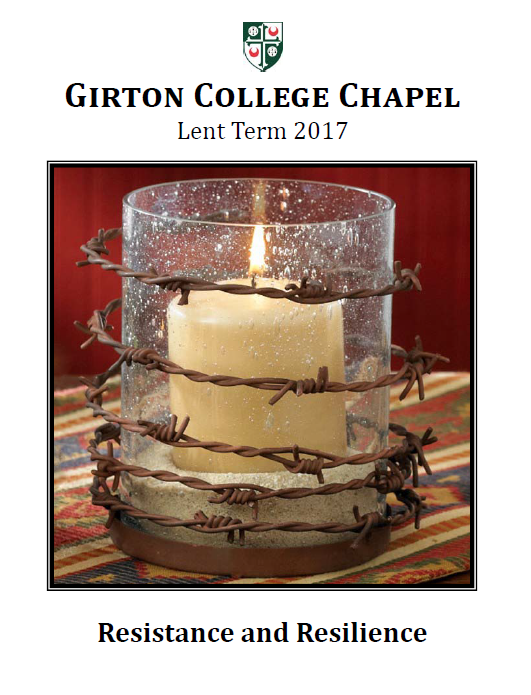 Girton College Chapel Sermons; Resistance and Resilience's image
